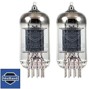 真空管 ギター・ベース アンプ Brand New Mullard Reissue 12AT7 ECC81 Gain Matched Pair (2) Vacuum T maniacs-shop