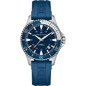 腕時計 ハミルトン メンズ H82345341 Hamilton H82345341 Khaki Navy Scuba Auto Men's Watch Blue Rubber|maniacs-shop