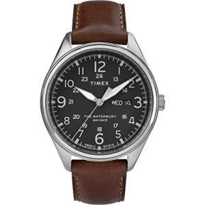 当店1年保証 タイメックスTIMEX Brown Leather Watch-TW2R89000