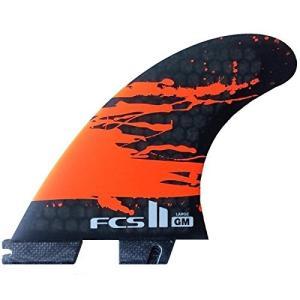 サーフィン フィン マリンスポーツ FGMX-CC02-XS-TS-R FCS 2 GM PC Carbon Fluro Orange XSmall Tri-F|maniacs-shop