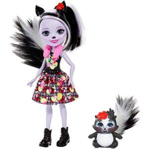 エンチャンティマルズEnchantimals Sage Skunk Doll