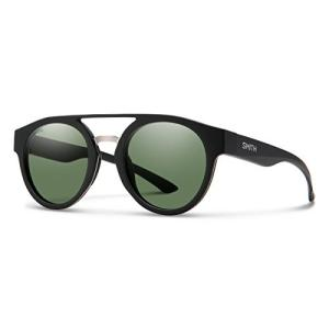 スミス スポーツ 釣り 20127000350L7 Smith Range Round Sunglasses, Matte Black/ChromaPop Polarized Gray|maniacs-shop