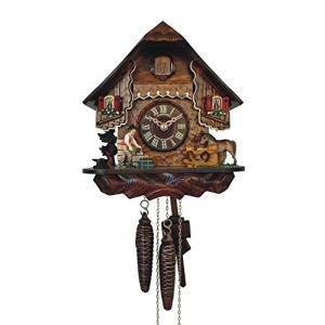 カッコー時計 インテリア 壁掛け時計 SC 76/9 Anton Schneider Cuckoo Clock Little Black Forest Ho|maniacs-shop