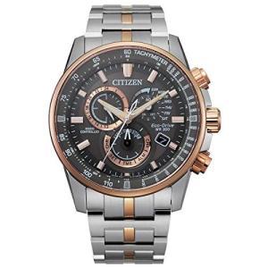 腕時計 シチズン 逆輸入 CB5886-58H Men's Citizen Eco-Drive PCAT Chronograph Two-Tone Watch CB5886-58H|maniacs-shop