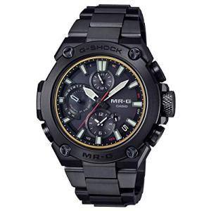 腕時計 カシオ メンズ MRG-B1000B-1A Casio G-Shock Mens MRG-B1000B-1A Solar Analog Bluetooth Midsize Wa|maniacs-shop