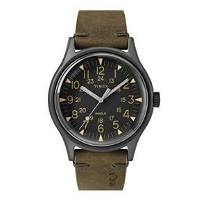 腕時計 タイメックス メンズ TW2R97000 Timex MK1 40 mm Stainless Steel Gunmetal Olive Watch TW2R9700|maniacs-shop