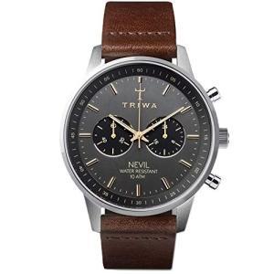当店1年保証 トリワTRIWA Nevil Men's Minimalist Watch ? Chr...