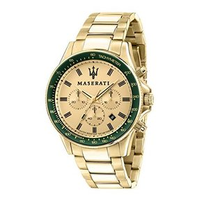 腕時計 マセラティ イタリア 8033288894780 MASERATI SFIDA 44 mm Chronograph Men's Watch|maniacs-shop