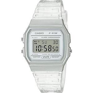 腕時計 カシオ メンズ F-91WS-7CF Casio Quartz Watch with Resin Strap, Clear, 20 (Model: F-91WS-7CF)|maniacs-shop