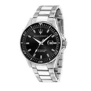 腕時計 マセラティ イタリア 8033288894711 Maserati Men's Sfida R8853140002 Silver Stainless-Steel Q|maniacs-shop