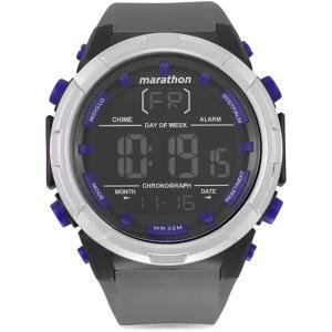 腕時計 タイメックス メンズ TW5M21000 Timex Marathon Digital Dial Silicone Strap Men's Watch TW5M21|maniacs-shop