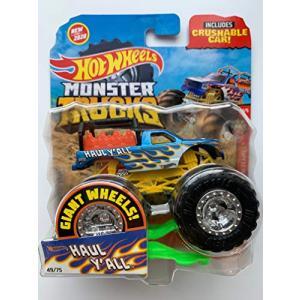 ホットウィール マテル ミニカー F963 Hot Wheels Monster Trucks 2020 1:64 Scale Truck with Crushab|maniacs-shop