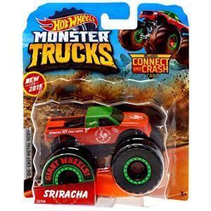 ホットウィール マテル ミニカー 887961705393 Hot Wheels 2019 Monster Trucks Giant Wheels Sriracha|maniacs-shop