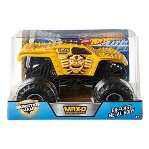 ホットウィール Hot Wheels モンスタージャム Gold Max-D ダイキャストビークル 1/24スケール FMB64|maniacs-shop