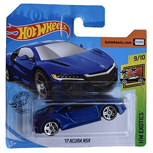 ホットウィール マテル ミニカー FYC34 Hot Wheels '17 Acura NSX Sh...