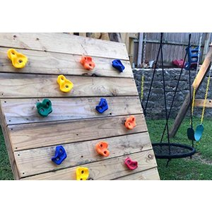 子ども用ロッククライミングのホールド ボルダリング 10ピース KINSPORY|maniacs-shop