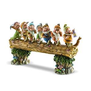 エネスコ Enesco ディズニートラディションズ 白雪姫と7人の小人 「ホームワードバウンド」 ジム・ショア 8.25インチ 置物|maniacs-shop