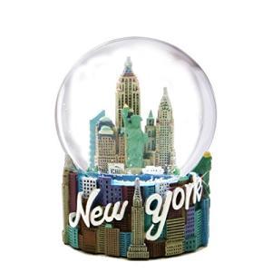 スノーグローブ 雪 置物 WG101 New York City Snow Globe (3.5 Inches), from Skyline NYC Snow Globes Col|maniacs-shop