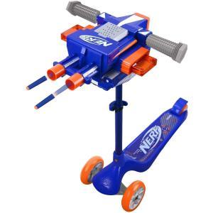 ナーフ アメリカ 直輸入 NF-SCOOT-S2 NERF Blaster Scooter Dual Trigger, 3 Wheel Kick Scooter|maniacs-shop