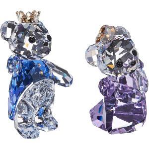 スワロフスキー クリスタル 置物 SW5301569 Swarovski Crystal Kris Bear- Prince & Princess Figurine|maniacs-shop