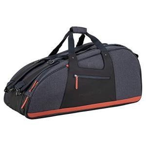 HEAD テニスバッグ コンビテニスバッグ グレイ/タン 6R 12個のラケット用 3つのメインコンパートメント|maniacs-shop