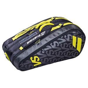 テニス バッグ ラケットバッグ BB751206 Babolat Unisex_Adult RH X 9 Pure AERO VS Racket Bag, Black|maniacs-shop