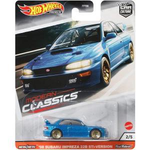 ホットウィール マテル ミニカー GJP96 Hot Wheels Subaru WRX Sti 2...