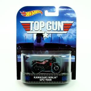 ホットウィール マテル ミニカー CFR29 Hot Wheels 'Top Gun' Kawasa...