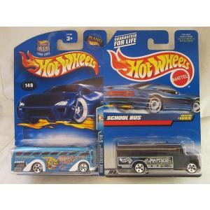 ホットウィール マテル ミニカー #909x Hot Wheels School Bus Black...