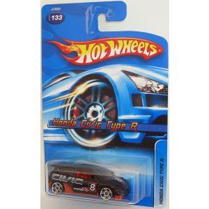 ホットウィール マテル ミニカー Hot Wheels 2006 Honda Civic Type ...