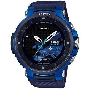 腕時計 カシオ メンズ WSD-F30-BU CASIO PRO Trek WSD-F30-BU [PROTREK Smart Blue]|maniacs-shop