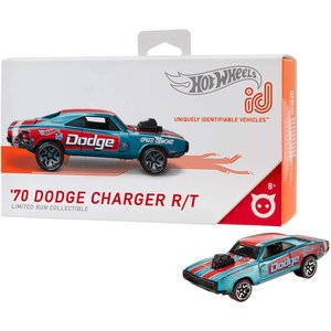 ホットウィール マテル ミニカー FXB03 Hot Wheels iD 70 Dodge Charger R/T|maniacs-shop