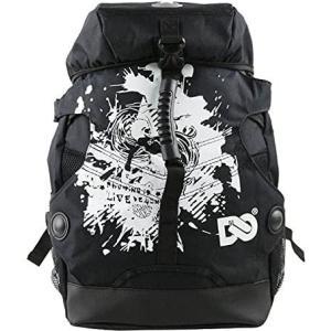 DENUONISS プロフェッショナル インラインスケート トラベル バックパック ブラック Mサイズ(42×32cm) 即納 特価品|maniacs-shop