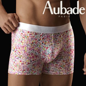 【M】サイズ Aubade メンズボクサーパンツ BAHIA ☆フランス オーバドゥ TUTTI FRUTTI ☆カラフルな砂糖菓子ボクサー |manifica