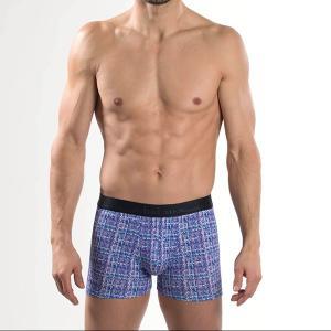 【M】サイズ Aubade メンズボクサーパンツ  Bahiaコレクション ☆フランス オーバドゥ ☆トレンドのツイードプリント メンズボクサー 男性下着|manifica|04
