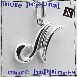 【N】イニシャルNネックレス☆JAY TSUJIMURA(ジェイ・ツジムラ)☆more personal more happiness!!コレクション|manifica