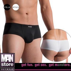【M】サイズ マイクロファイバー メンズストリング☆ドイツ製 MANSTORE(マンストア)☆M200☆Hot String Pants  ブラック ホワイト|manifica