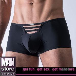 【M】サイズ マイクロファイバー メンズボクサーパンツ ブラック☆ドイツ製 MANSTORE(マンストア)☆M519シリーズ ☆Jail Pants Black|manifica