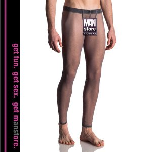【S】サイズ  チュールメンズレギンス グレー☆ドイツ製 MANSTORE(マンストア)☆M612シリーズ ☆Bungee Leggings|manifica