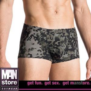 【M】【L】サイズ カモフラージュ&ボーダー メンズボクサーパンツ☆ドイツ製 MANSTORE(マンストア)☆M657☆Micro Pants 男性下着|manifica