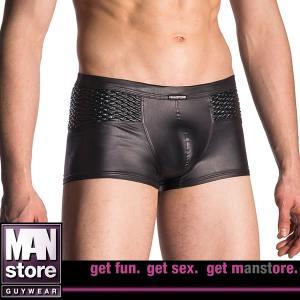【M】サイズ 合皮 メンズボクサーパンツ ブラック☆ドイツ製 MANSTORE(マンストア)☆M701シリーズ ☆Micro Pants Black|manifica
