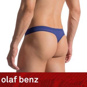 【L】【XL】サイズ 復刻!!ファントム メンズストリング(Tバック)☆ドイツ製 OLAF BENZ(オラフベンツ)☆RED0965☆Ministring NAVY 男性下着|manifica