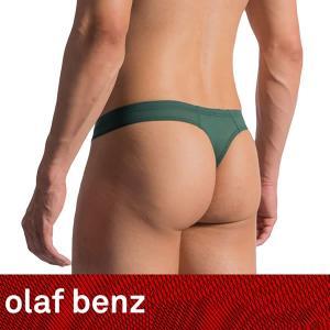 【L】【XL】サイズ 復刻!!ファントム メンズストリング(Tバック)☆ドイツ製 OLAF BENZ(オラフベンツ)☆RED0965☆Ministring OLIVE 男性下着|manifica