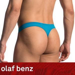 【L】【XL】サイズ ファントムストリング アクアブルー☆ドイツ製 OLAF BENZ(オラフベンツ)☆RED0965☆Ministring SURF メンズTバック|manifica