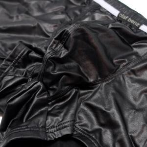 【M】サイズ サテン メンズボクサーパンツ(5色展開 白・黒・青・赤・緑)☆ドイツ製 OLAF BENZ(オラフベンツ)☆RED1675 ☆Minipants manifica 13