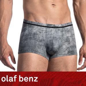 【S】【M】【L】サイズ メンズボクサーパンツ(グレー)☆ドイツ製 OLAF BENZ(オラフベンツ)☆RED1674 ☆Minipants 男性下着 Stains|manifica