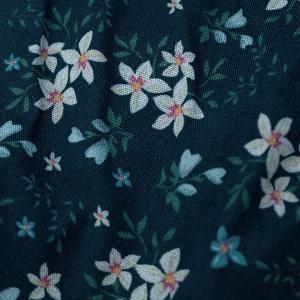 【M】サイズ 花柄 コットントランクス☆ベルギーブランド SIXTINE'S☆プレゼントにも。 GERALDINE  さらっと薄手の綿パンツ 男性下着 ネイビー|manifica|04