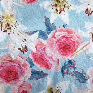 【S】【M】【L】サイズ 花柄 コットントランクス☆ベルギーブランド SIXTINE'S☆プレゼントにも。 LAURENCE  さらっと薄手の綿パンツ 男性下着 ブルー|manifica|04