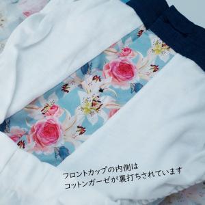 【S】【M】【L】サイズ 花柄 コットントランクス☆ベルギーブランド SIXTINE'S☆プレゼントにも。 LAURENCE  さらっと薄手の綿パンツ 男性下着 ブルー|manifica|06