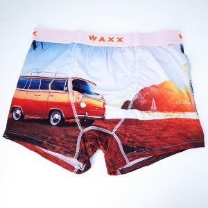【M】サイズ ワゴン ボクサーパンツ☆フランスブランド☆WAXX(ワックス)☆SANDIEGO メンズボクサー  男性下着|manifica